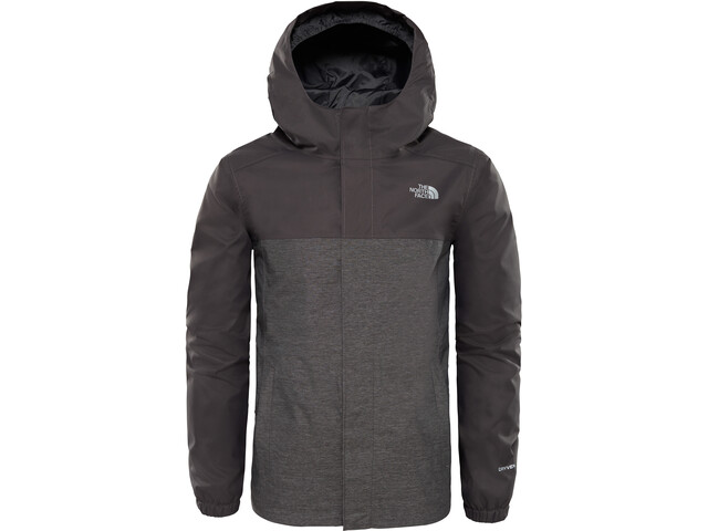 The North Face Resolve Reflective Jacket Jungs graphite grey heather